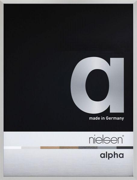 Bilderrahmen Nielsen Alpha eloxiert, Frontansicht