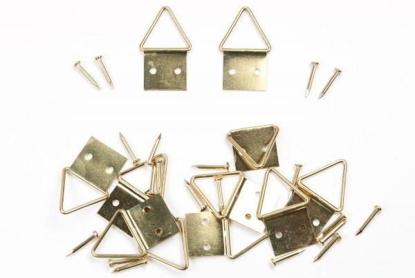 10 mm Klappösen-Aufhänger mit Nägel
