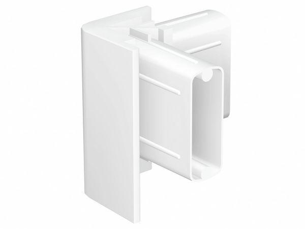 Bilderschienen Eckverbinder in Weiß