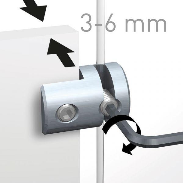 Artiteq - Klemme einzeln 3-6 mm
