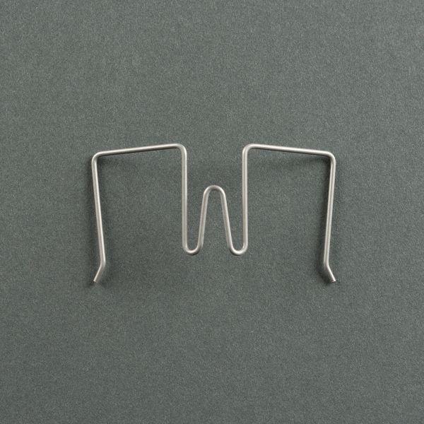 Stellwandhaken Flex in Silber, 11-30mm Spannweite
