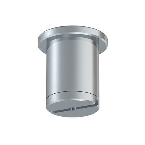 Deckenhalter für 1,2 mm Stahlseil verchromt