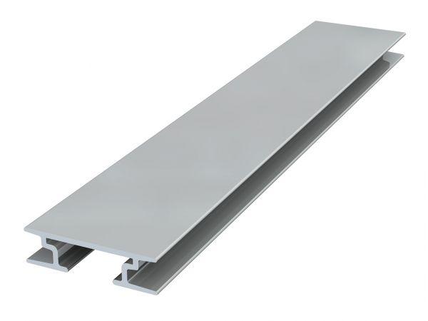 Artiteq - Back Frame Rail 8 mm 300 cm silber eloxiert