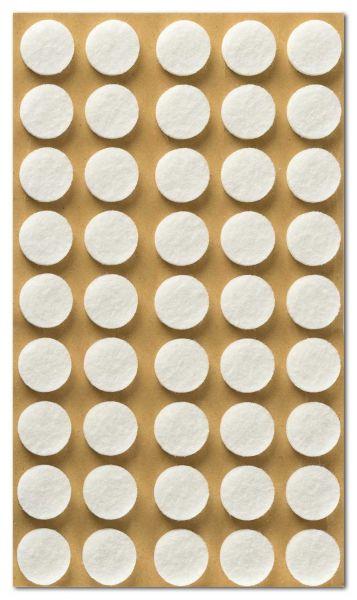 Filzpuffer für Bilderrahmen, selbstklebend, 15 mm