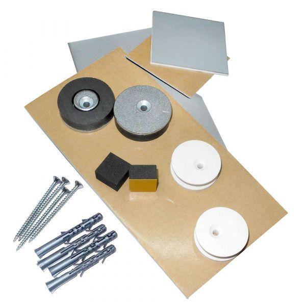 Spiegelbefestigung EM2 bis 1,6 m², 24 kg Standard-Set