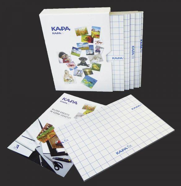 KAPA-fix Leichtschaumplatten DIN A3, Anwendung