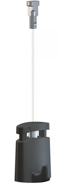 Artiteq - Aufhänge-Set Twister 1 mm Perlon 150 cm mit Micro Grip 1 mm 5 kg
