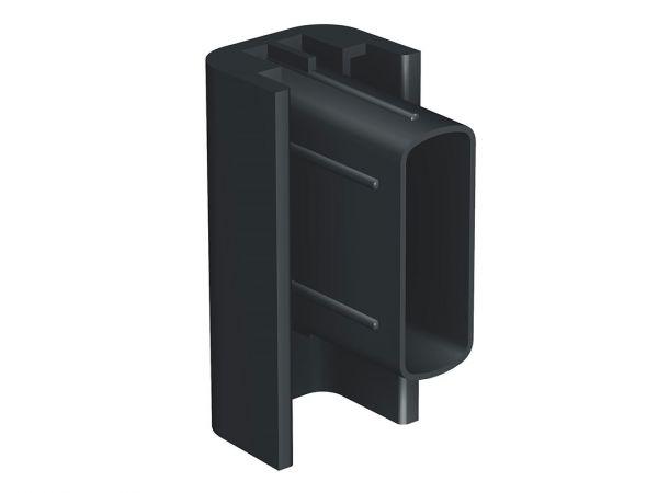 Artiteq - Endkappe Click Rail schwarz