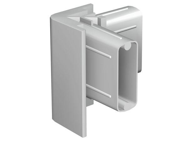 Bilderschienen Eckverbinder Standard in Weiß oder Grau