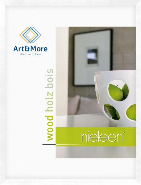 Holz-Bilderrahmen Nielsen Essential in Weiß