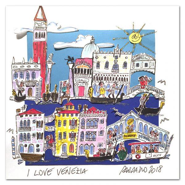 "Paolo Randazzo ""I Love Venedig"""
