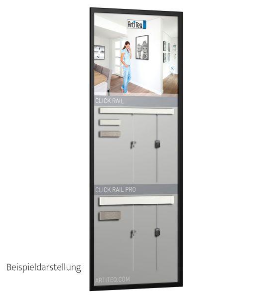 Artiteq Demoboard Click Rail Pro 50 x 130 cm
