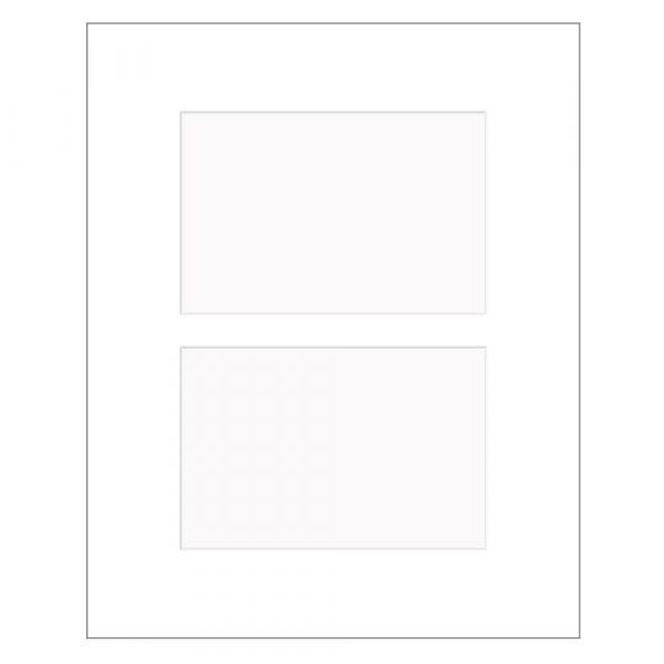 Fertig Passepartout mit Mehrfachausschnitt Nielsen 2,5 mm