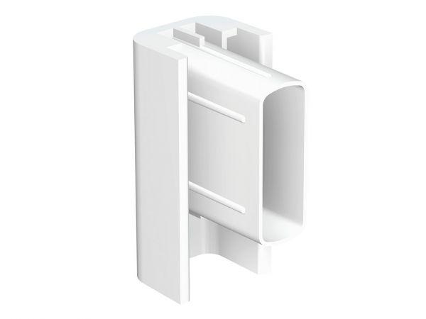 Artiteq - Endkappe Click Rail weiß
