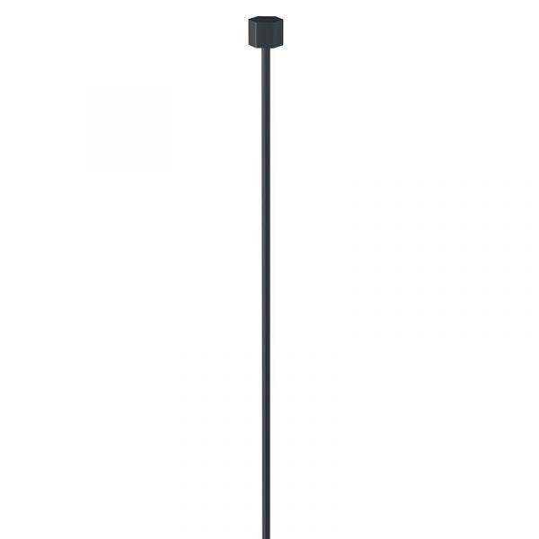Artiteq - Stahldraht mit Gleiter schwarz