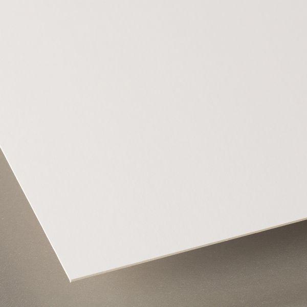 Foto Karton (Passepartout Rückwand) 1mm in Weiß