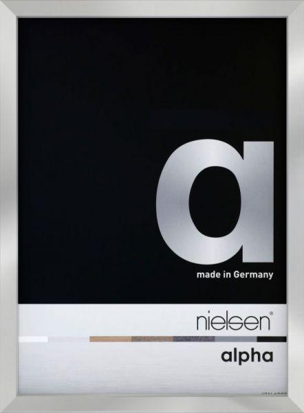 Fotorahmen Nielsen Alpha eloxiert, Frontansicht