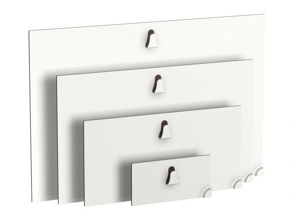 Artiteq - Magnetische Bilderhaken Stahl 200 x 100 mm 4 kg