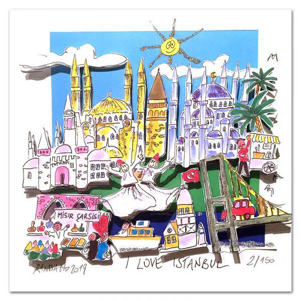 """Paolo Randazzo """"I Love Istanbul"""""""