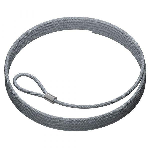 Artiteq Stahldraht 2 mm mit Schlaufe, 200 cm