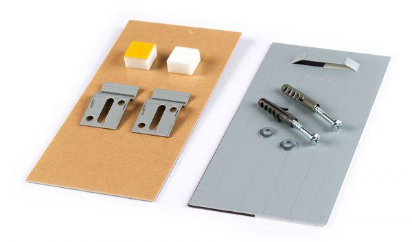 Spiegelbefestigung L2 bis 1,6 m², 24 kg Standard-Set