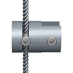Einzel-Klemme für Plexiglas Spuckschutz, 3-6 mm Stärke