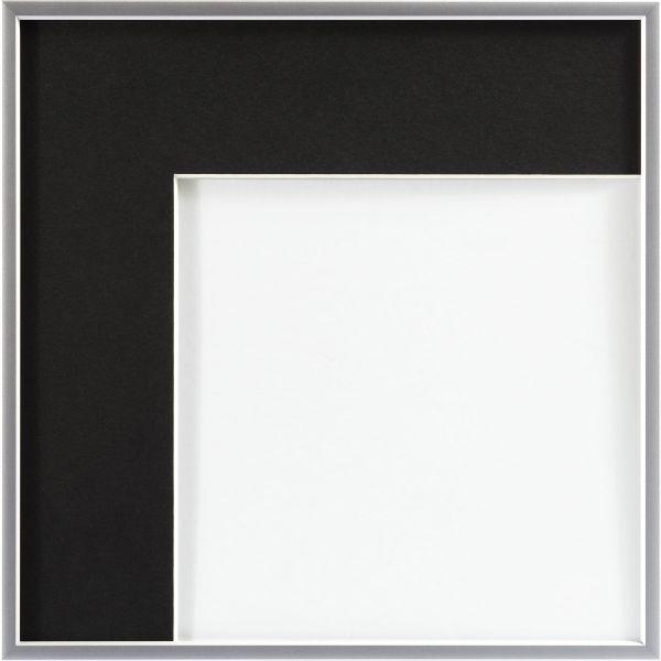 Fertig Passepartout von Art & More 1,5 mm, Schwarz