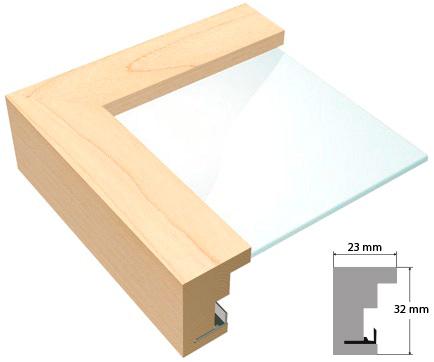 bilderrahmen holz ahorn natur von roggenkamp. Black Bedroom Furniture Sets. Home Design Ideas