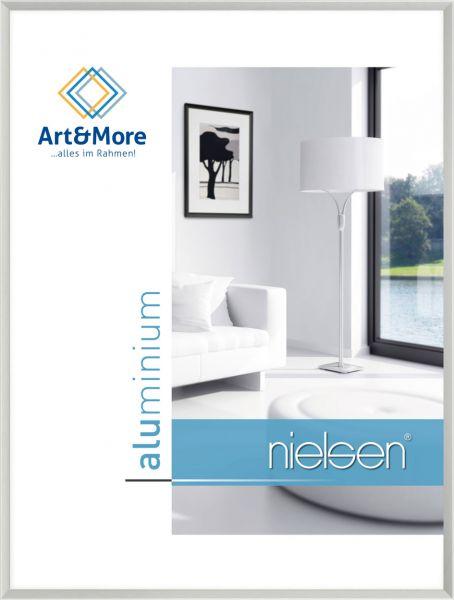 Bilderrahmen Nielsen Pixel in Silber matt