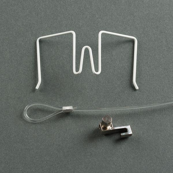 Stellwandhaken Flex Set weiß, 11-30 mm