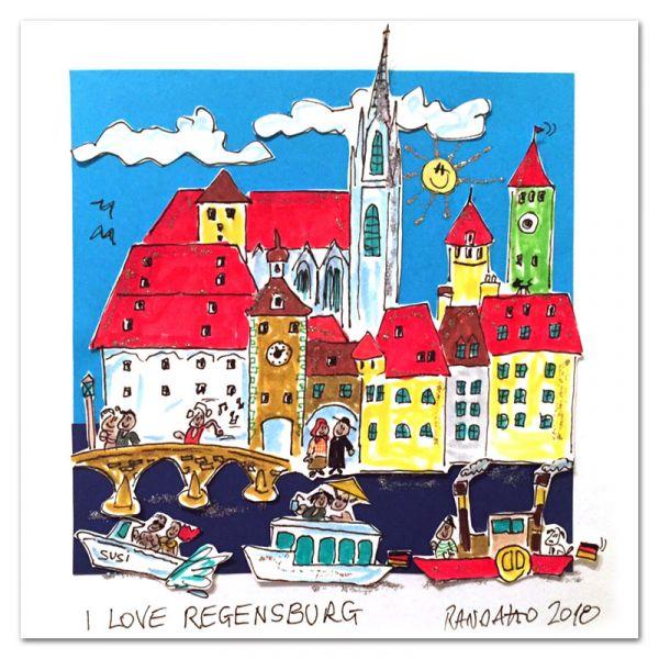 "Paolo Randazzo ""I Love Regensburg"""
