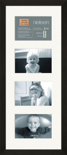 Fotorahmen aus Holz mit Mehrfach-Passepartout Nielsen Essential