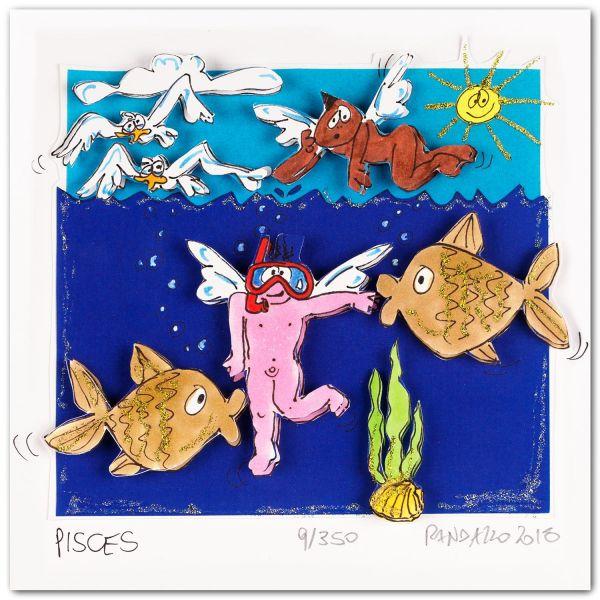 "Paolo Randazzo Sternzeichen Fische, ""Pisces"""