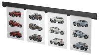 Smart Pocket Rail Wandschiene für Einschub-Acryltaschen