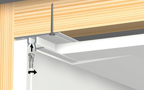 Shadowline-Drywall, Montage