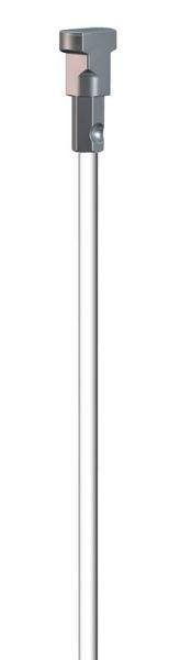 Artiteq Twister 2 mm auf Stange weiß 100 cm