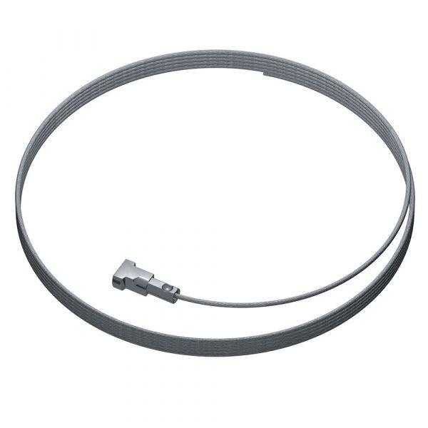 Artiteq - Twister 1 mm Stahldraht 150 cm