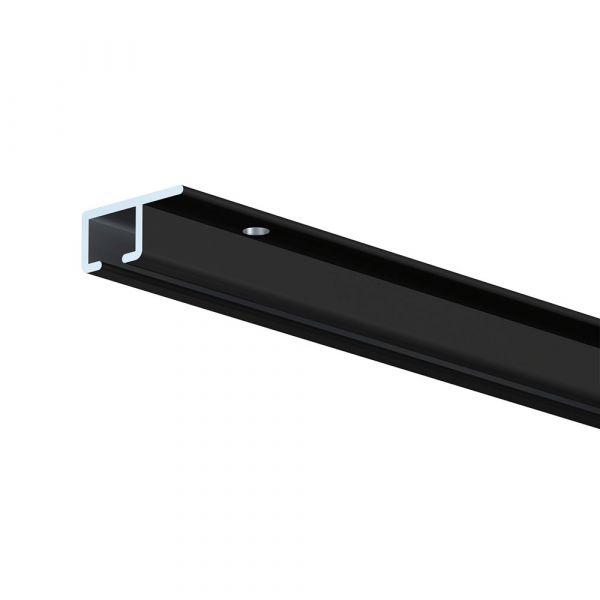 Artiteq Top Rail schwarz 300 cm, 10 Stück