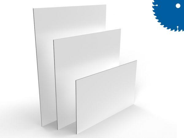 Alu-Verbundplatte im Zuschnitt, 3 mm