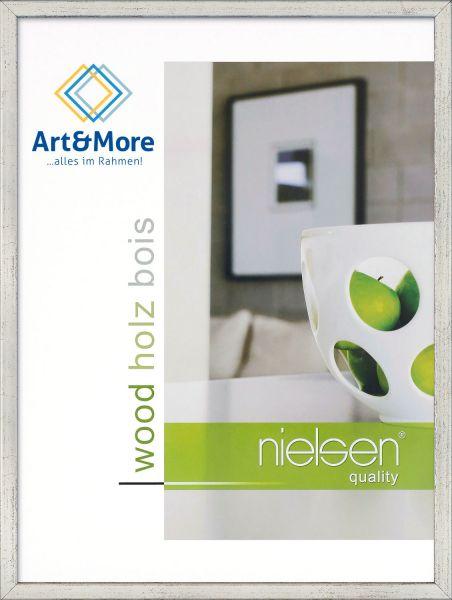 Holz Fotorahmen Nielsen Zoom in Silber