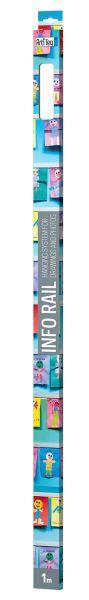 Info Rail Retail Pack weiß 100 cm