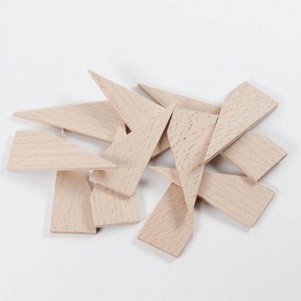 Holzkeile für Keilrahmen // 12 Stück