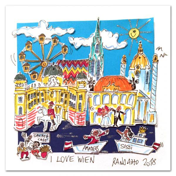 """Paolo Randazzo """"I Love Wien"""""""