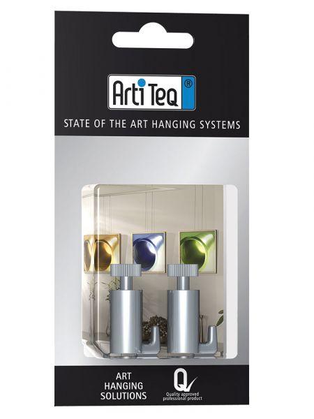 Artiteq Blister Art 8 KlinkHaken 15 kg (2x)