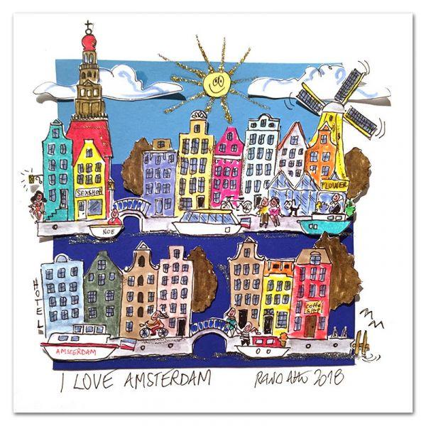 """Paolo Randazzo """"I Love Amsterdam"""""""