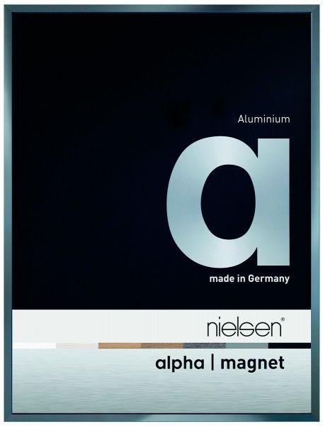 Nielsen Alpha Magnet eloxiert Alu-Bilderrahmen
