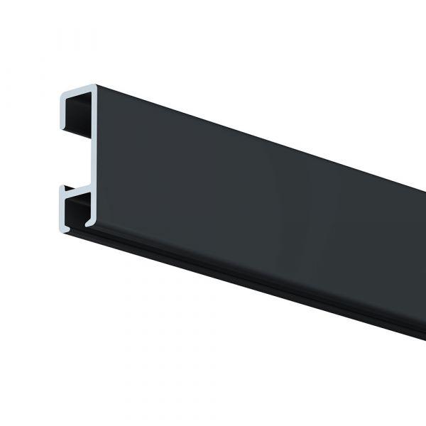 Galerieschiene Standard-Profil schwarz