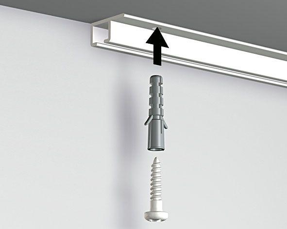 Artiteq Schraube 3 x 16 mm (incl. bit) für Top Rail weiss
