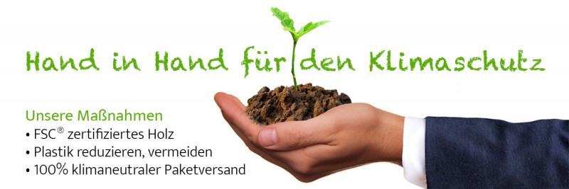Maßnahmen zum Klimaschutz der Art & More GmbH