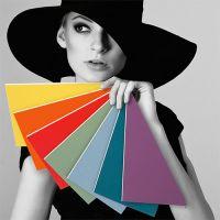 Standard Passepartouts in 78 Farben